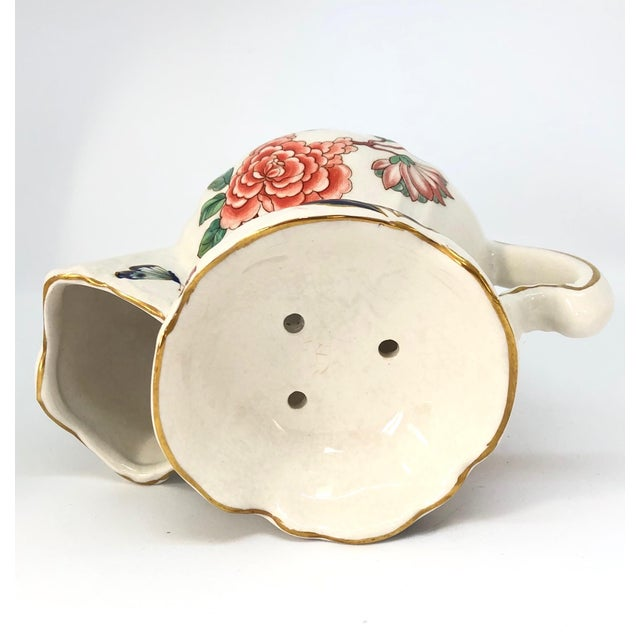 Vintage Chinese Rose Old Foley James Kent Staffordshire For Sale - Image 10 of 12