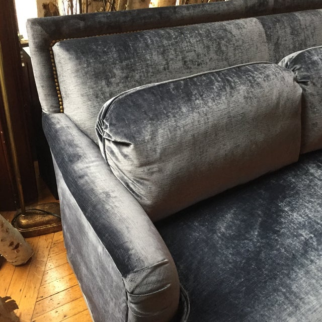 "90"" Vintage Sofa - Image 5 of 7"