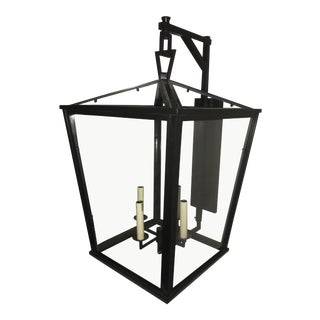 Visual Comfort E. F. Chapman Darlana Large Bracket Lantern For Sale