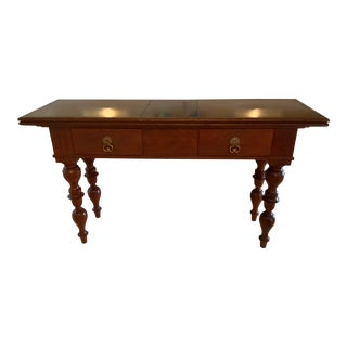 Baker/Milling Road West Indies Console For Sale