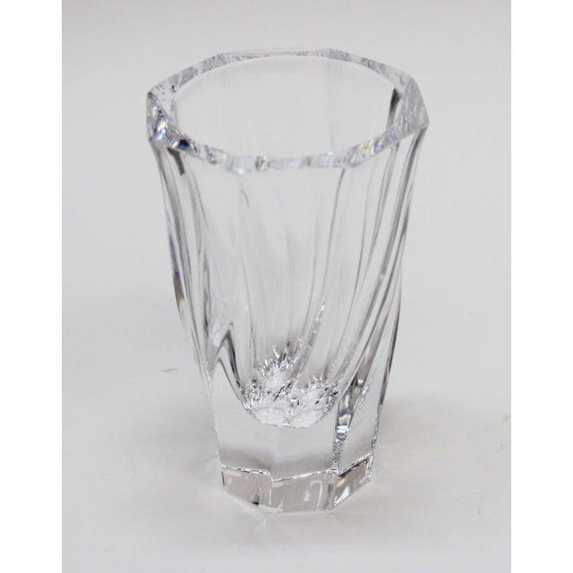 Vintage Orrefors Sweden Crystal Vase Chairish