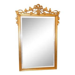Majestic Mirror Company Giltwood Mirror For Sale