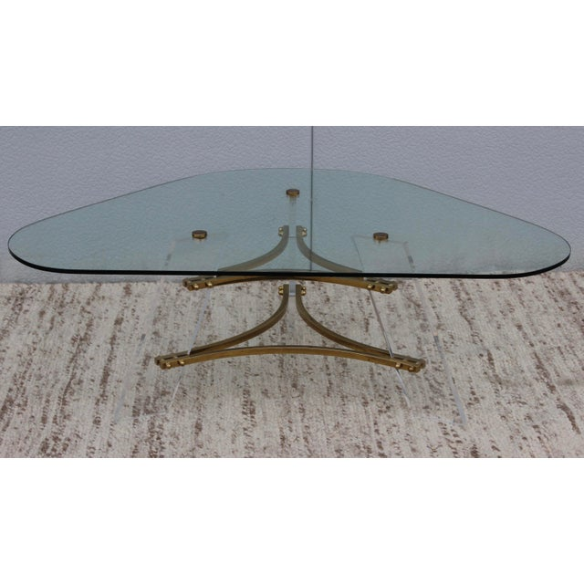 Mid-Century Modern 1960s Vintage Charles Hollis Jones Coffee Table For Sale - Image 3 of 10