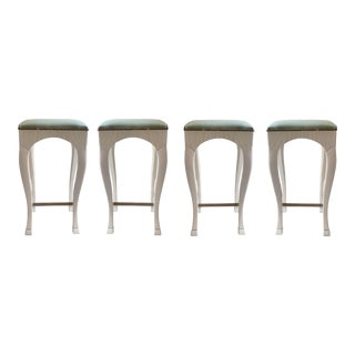 Customized Goat Leg Bar Stools - Set of 4