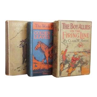 Vintage Wild West Books - Set of 3