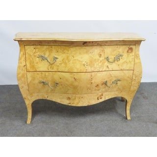 Italian Burlwood Bombay Commode Preview
