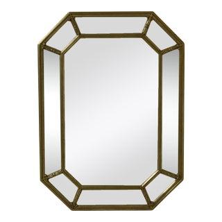 Friedman Brothers Model 6386 Multi Panel Beveled Mirror For Sale