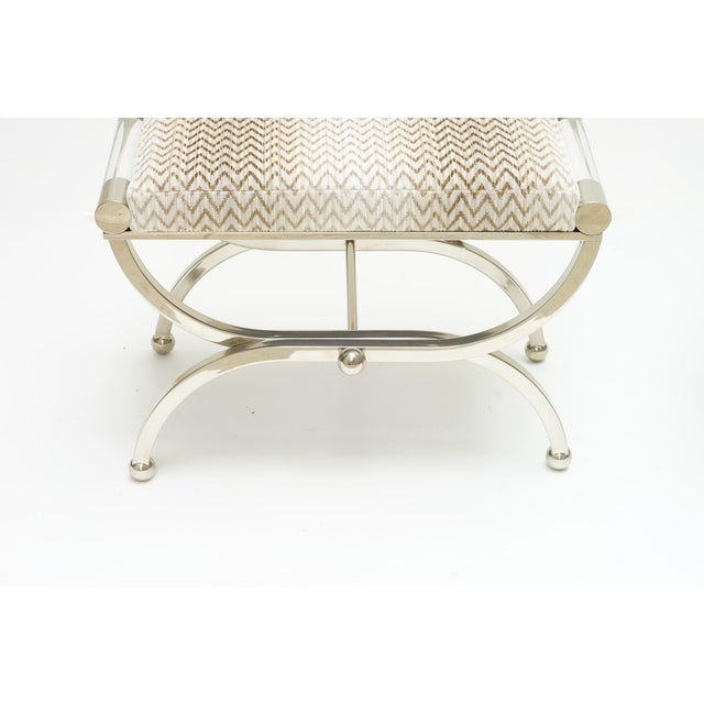 Modern 20st C. Charles Hollis Jones Benches For Sale - Image 3 of 5