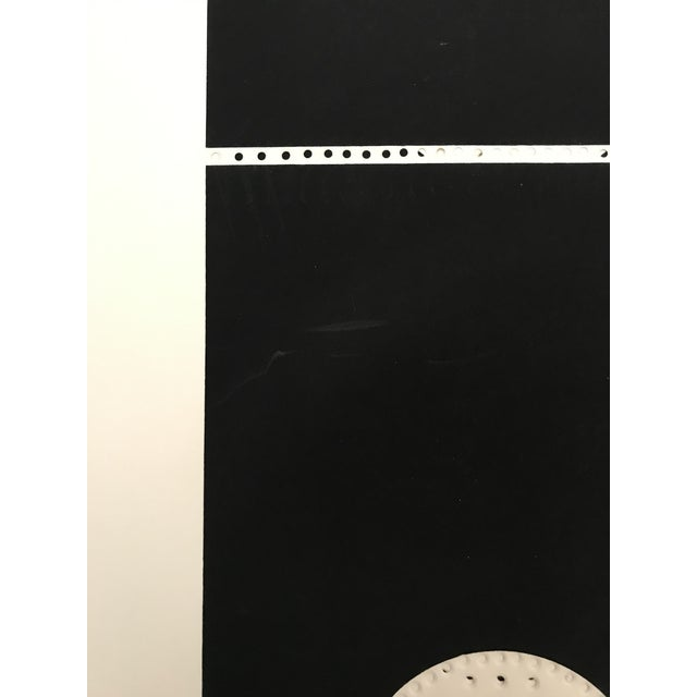 Lithograph 1971 Juan Martinez Composition #1 Hand Signed Silkscreen Print For Sale - Image 7 of 7