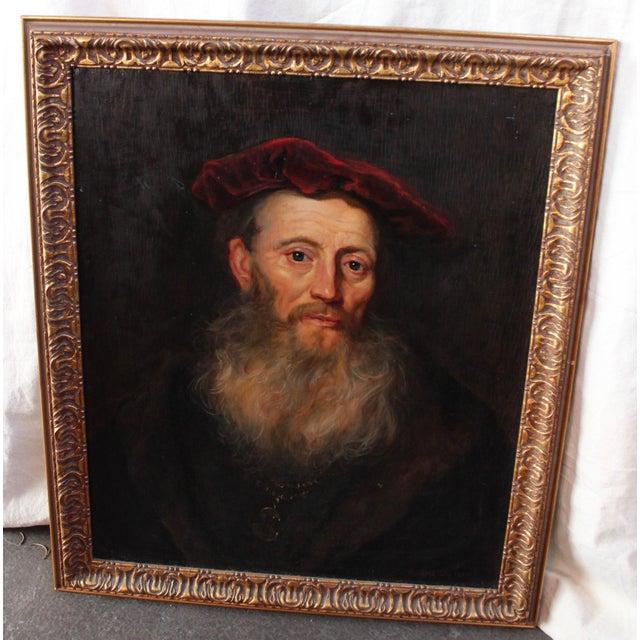 """Vintage """"Portrait of a Gentleman"""" After Flinet - Image 2 of 6"""