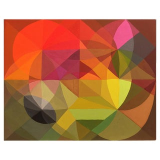 Abstract Colorful Painting by Andrea Ferrigno, Generator For Sale