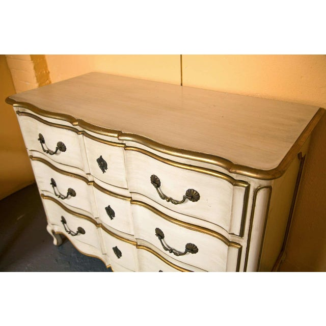 French Louis XV Style Commode Stamped Jansen For Sale - Image 4 of 9