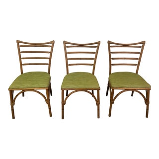 1960s Vintage Rattan Chairs- Set of 3 For Sale