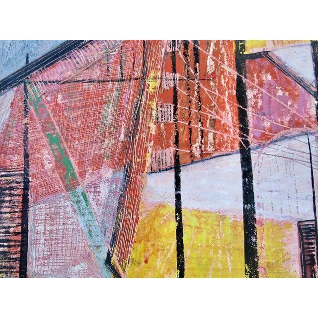 Paul Arthur Lingren Gouache Painting, 1953 For Sale - Image 4 of 6