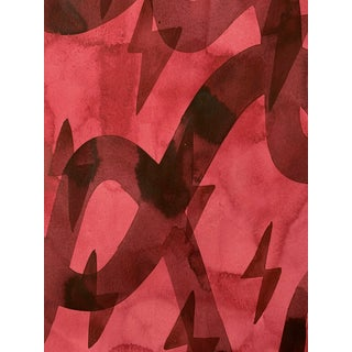 Crimson Two Painting by Kate Roebuck Preview