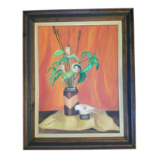 M. Kimball Modern Still Life Painting For Sale