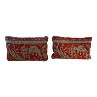 Fortuny Accent Pillows - a Pair For Sale
