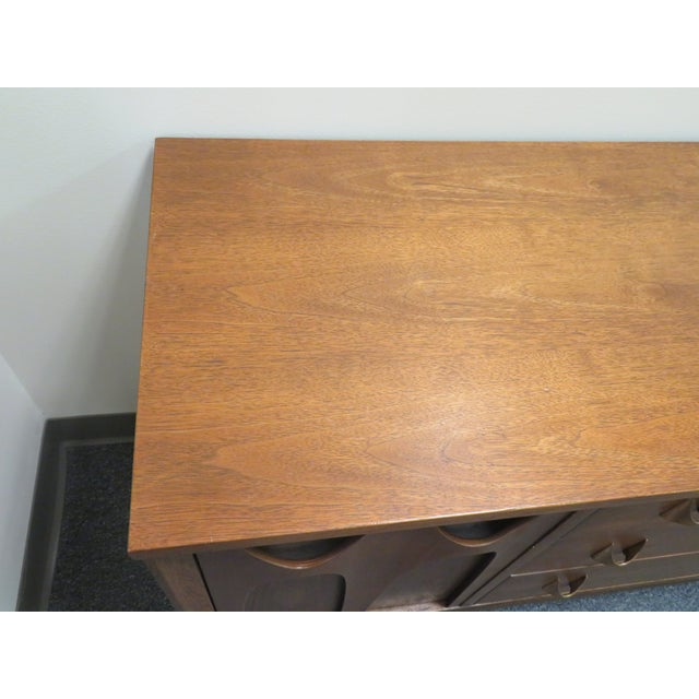 1960s Mid-Century Broyhill Brasilia Lowboy Credenza For Sale In Richmond - Image 6 of 12