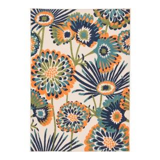 """Jaipur Living Balfour Indoor Outdoor Floral Multicolor Area Rug 8'8""""X11'10"""" For Sale"""