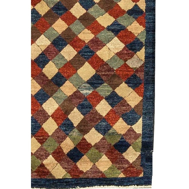 """Contemporary Hand Woven Rug 3'10"""" X 6'4"""" - Image 3 of 4"""