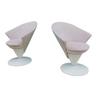 Adrian Pearsall for Craft Associates Cone Chairs - A Pair For Sale