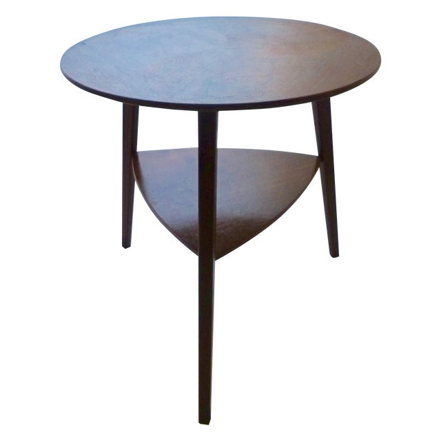 Danish Modern Peter Hdivt Style Side Table - Image 1 of 8