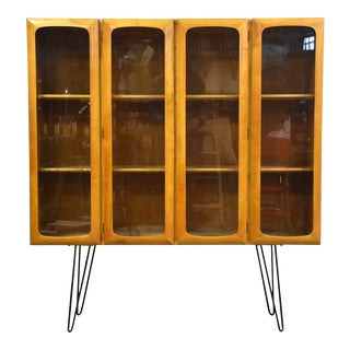 Swedish Modern Mid Century Bookcase For Sale