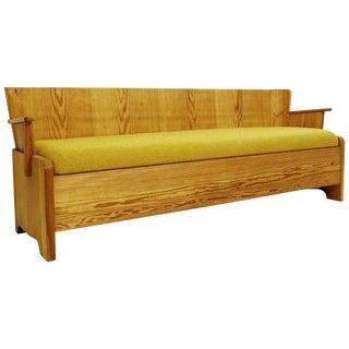 Pine Sofa/Bench by Göran Malmvall - .Ed. Svensk - Circa 1950 For Sale