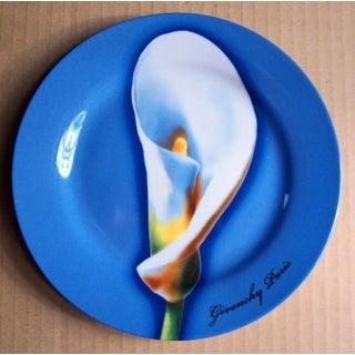 Vintage Colorful Givenchy Porcelain Les Fleurs Salad/Dessert Plates - Set of 4 Preview