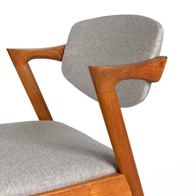 Awe Inspiring Vintage Danish Modern Kai Kristiansen Teak Dining Chair Download Free Architecture Designs Viewormadebymaigaardcom