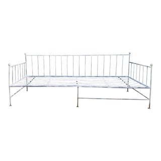Vintage Wrought Iron Daybed Sofa For Sale