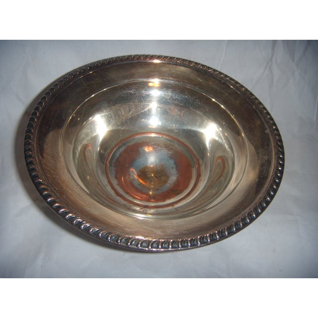 Silver-Plate Pedestal Bowl - Image 5 of 9
