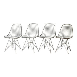 Eames for Herman Miller Wire Dkr Chairs C.1950 For Sale