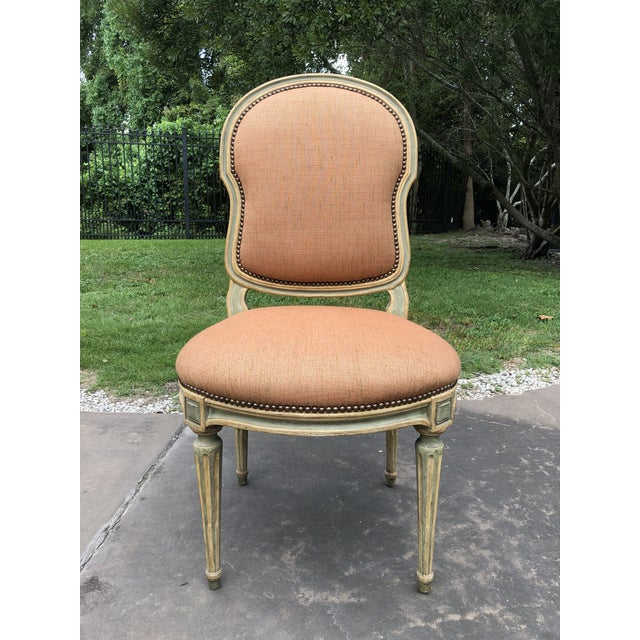 2000 - 2009 Dennis and Leen Louis XVI Side Chair For Sale - Image 5 of 5
