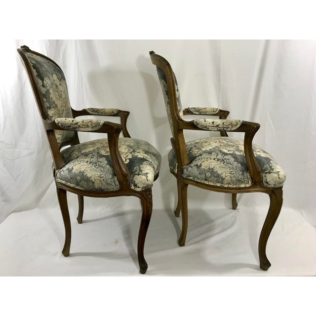 Louis XV Style Arm Chair For Sale - Image 4 of 6