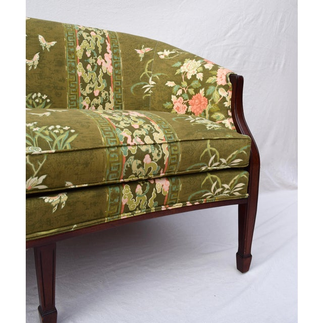 Hickory Chair Federal Hepplewhite Style Sofa For Sale - Image 11 of 13