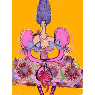 """Moschino Antoinette"" Limited Edition Art Print by Annie Naranian For Sale"