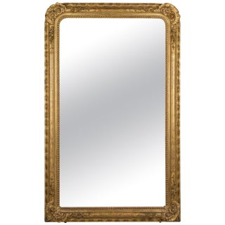 19th Century French Gilt Mirror For Sale