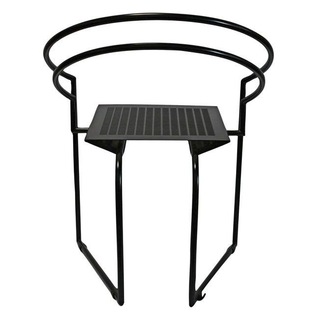 Mario Botta Memphis Postmodern Chairs 80s - S/4 - Image 4 of 4