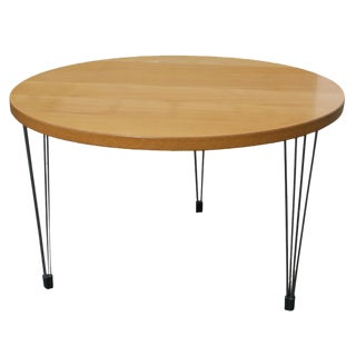 Fritz Hansen Coffee Table by Piet Hein and Bruno Mathsson For Sale