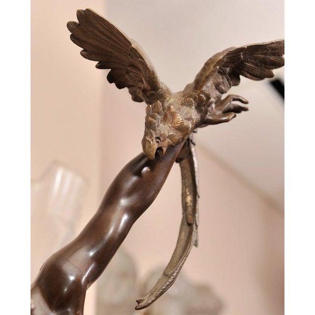 Art Deco Art Deco Bronze Figure by Claire Jeanne Roberte Colinet For Sale - Image 3 of 8
