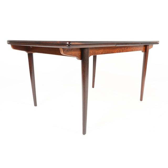 Brazilian Rosewood Draw Leaf Dining Table - Image 5 of 11