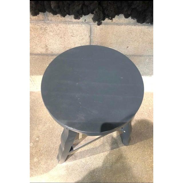 Tom Dixon Tom Dixon Offcut Stool Grey For Sale - Image 4 of 7