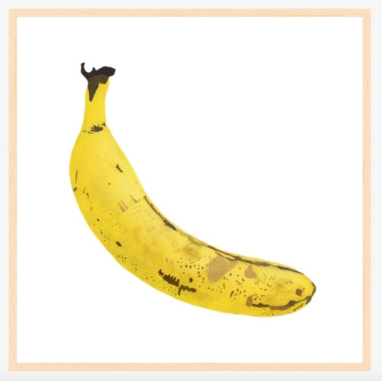Portrait Of A Banana Graphic Fine Art Print 30 X 30 Chairish