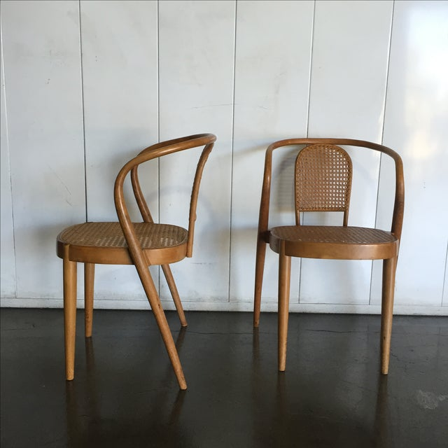 Vintage Thonet Stacking Chairs - Set of 5 - Image 5 of 6