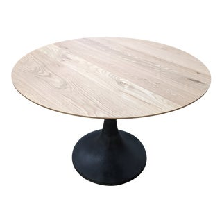 "Industrial West Elm 42"" Dining Table"