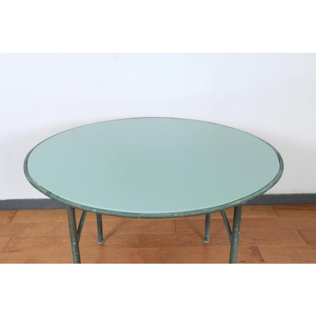 Metal Walter Lamb for Brown Jordan Patio Table For Sale - Image 7 of 7