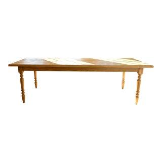 Reclaimed Wood Farm Table For Sale
