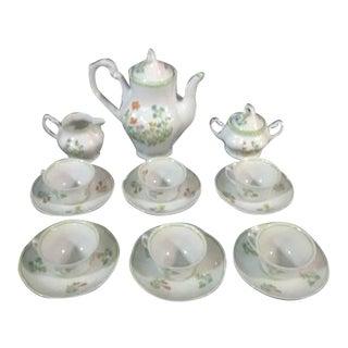 Vintage Europa Polish Porcelain Tea Set - 15 Pc.
