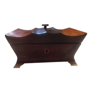 19th English Fruitwood and Rosewood Box For Sale